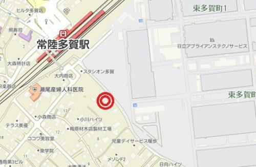 《貸駐車場》東多賀町第2駐車場